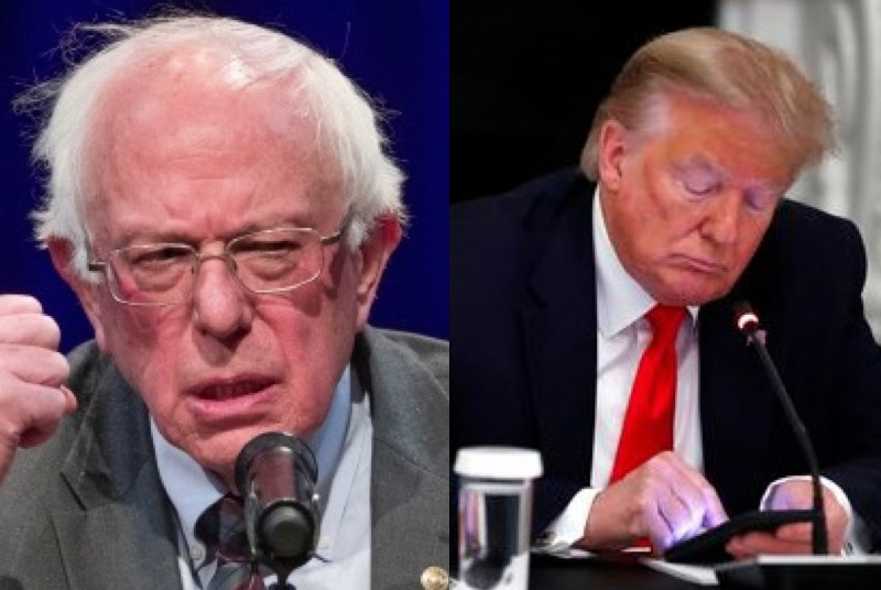 socialist-bernie-sanders-reveals-he-does-not-feel-comfortable-with-twitter-banning-trump-while-he-was-president