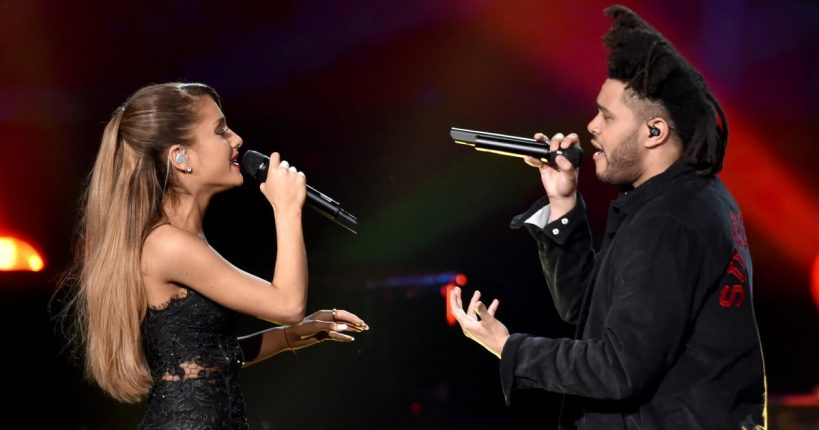 the-weeknd-and-ariana-grande-save-your-tears-remix-video
