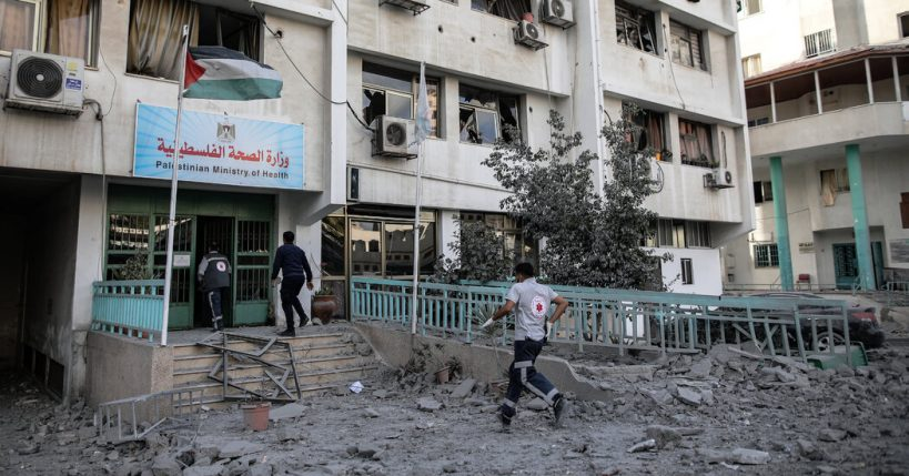 airstrike-damages-gazas-only-covid-19-testing-lab-officials-say