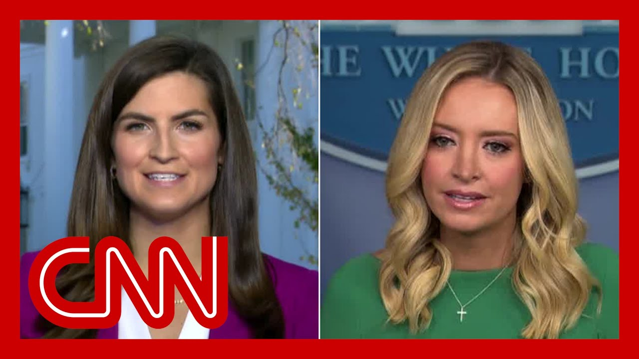 hear-kayleigh-mcenanys-reason-for-not-taking-a-question-from-cnns-kaitlan-collins